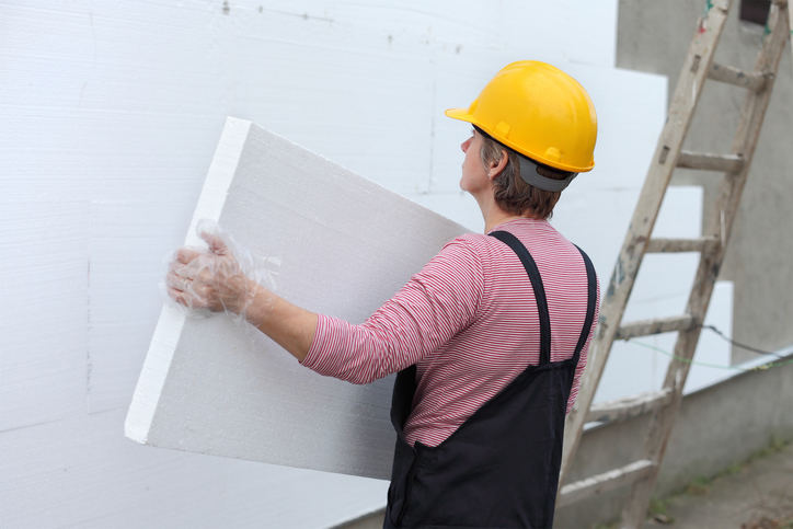Placa de drywall branca standard (ST)