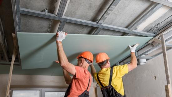conheça as placas de drywall antifogo e antiumidade