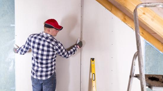 Parede de drywall: obras mais rápidas, limpas e eficientes