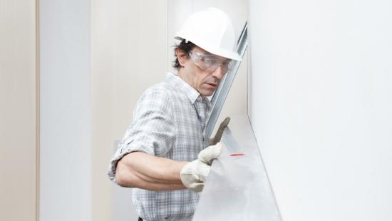 Principais componentes para uma instalação em drywall