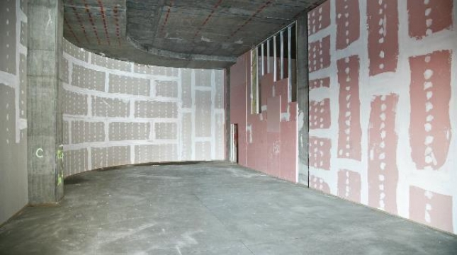 Drywall resistente ao fogo