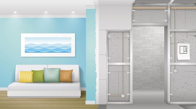 Drywall é a melhor escolha na hora de construir paredes internas