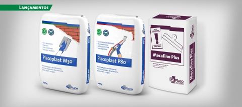 Placoplast e Mecafino Plus chegam para complementar o portfólio de soluções da empresa